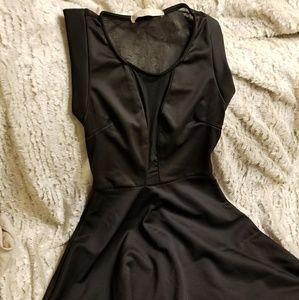 Dresses & Skirts - Sheer insert black dress